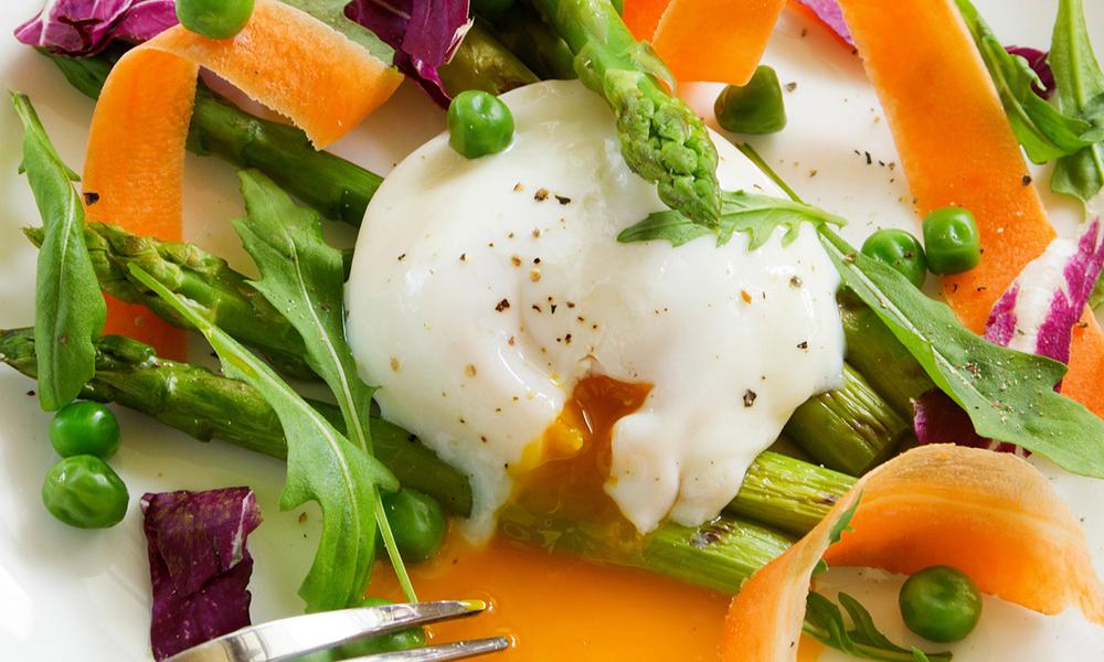Uova e verdure