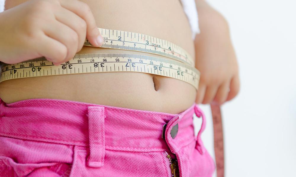 Pancia misurata con centimetro