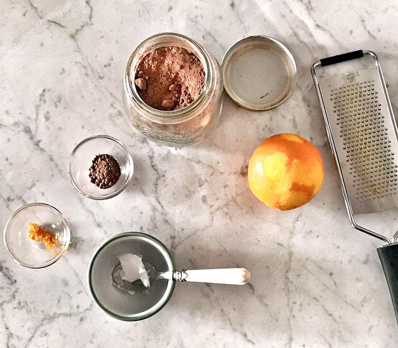 Ingredienti maschera antiossidante