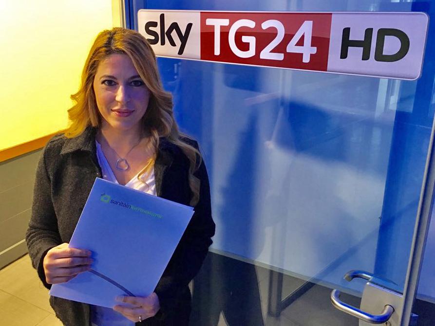 Serena Missori intervista Sky TG24