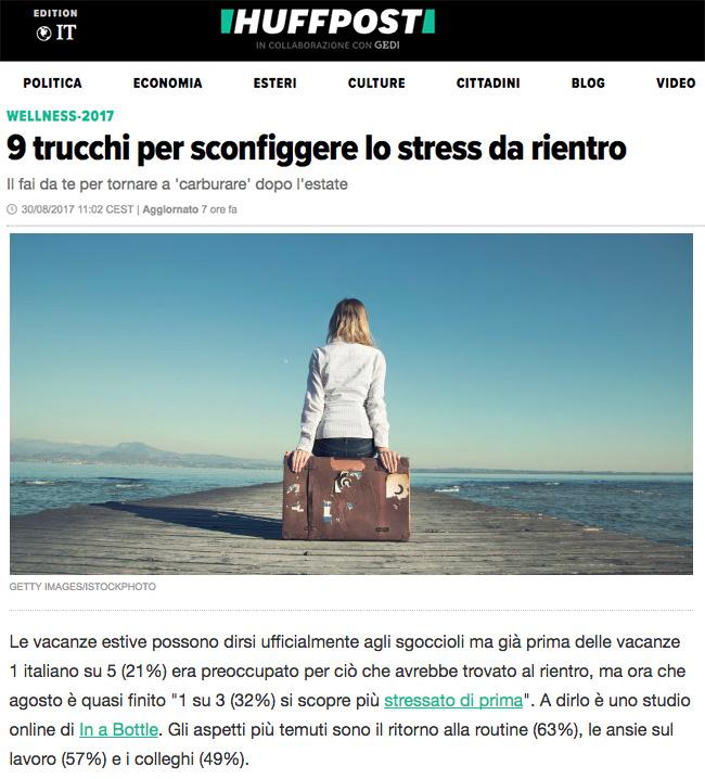 9 trucchi per sconfiggere lo stress da rientro