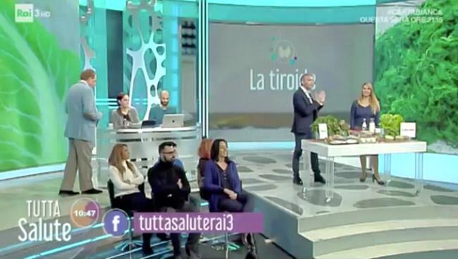 Tutta Salute - Rai 3 - Tiroide
